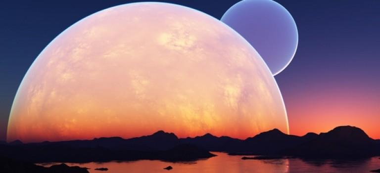 """本週末上演""""天文奇觀派對"""":藍月亮和火星沖日將接連出現!"""