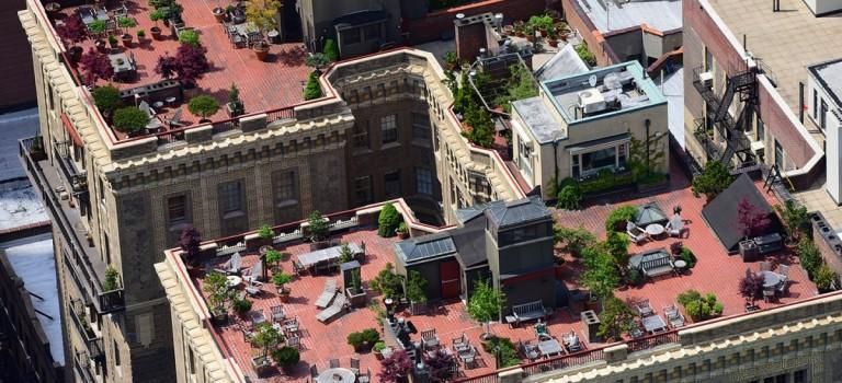 航拍紐約秘密屋頂花園:原來紐約客的真實生活是這樣…