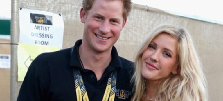 哈利王子吃上綿羊音小公主Ellie Goulding?偷偷約會中!