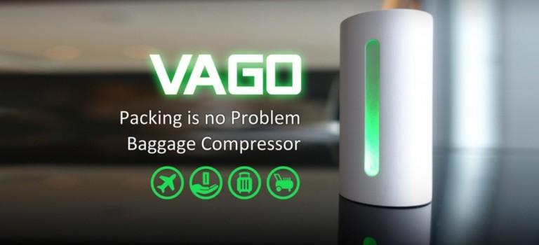 行李空間縮一半!台灣年輕創業家推出旅行神器VAGO