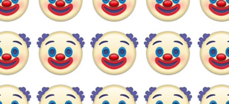 Twitter新增72個表情,包括那個嚇死人的小丑!