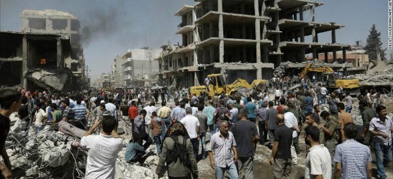 敘利亞再發生自殺式恐怖襲擊48死140傷,ISIS稱對此事負責