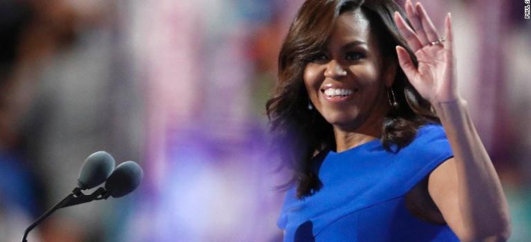 米歇爾精彩演講為希拉里力挽狂瀾,美國網友紛紛支持米歇爾當總統