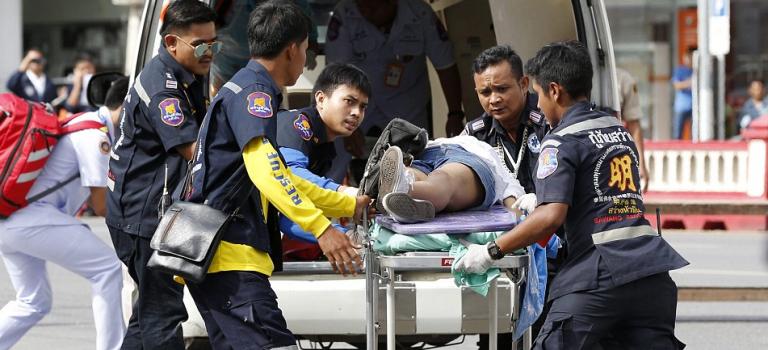 泰國多處旅遊勝地連環爆炸案,多人死傷滿目瘡痍!