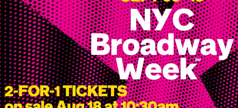 紐約百老匯週買一送一又來啦,超便宜看百老匯!!