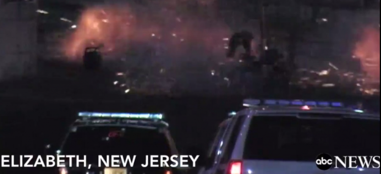 【視頻】週末連續三起恐襲:新澤西火車站再發生爆炸!