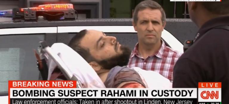 警方逮捕連環爆炸案嫌犯:原籍阿富汗,槍戰現場曝光