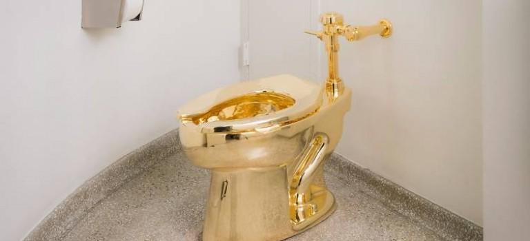 """想用""""黃金馬桶""""的趕緊了!古根漢姆博物館的這現互動藝術,進入倒計時!"""