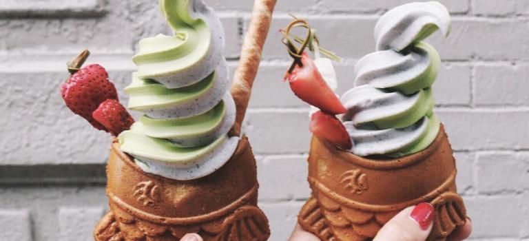 讓開讓開!紐約最夯甜品鯛魚燒冰淇淋來啦!