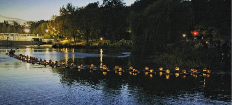 萬聖節不想扎堆?去中央公園刻南瓜+南瓜燈漂流吧!