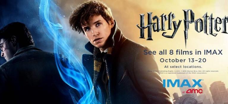 《哈利波特》系列8部電影馬拉松開始,IMAX影院重溫童年回憶!