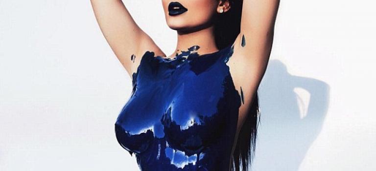 卡戴珊小妹也裸了!Kylie Jenner跟進姐姐們裸身拍雜誌了!