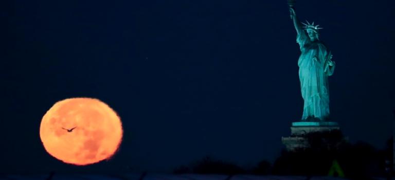 就是今晚!紐約最大月亮!錯過再等18年!