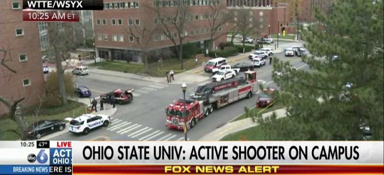 【突發】俄亥俄州立大學發生校園槍擊:9人受傷,槍手死亡!