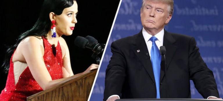 """其實川普才是Katy Perry頭號迷弟?準總統曾""""吃醋""""評價Katy前男友"""