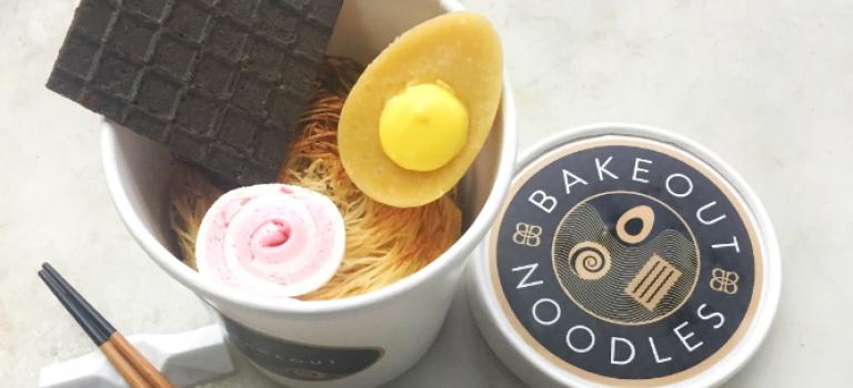 """紐約口碑甜品店推出限量創意""""拉麵甜品"""":免費送到你家哦~"""