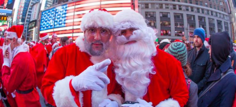 來唷來唷~本週末耶誕老人將要大醉大鬧曼哈頓!
