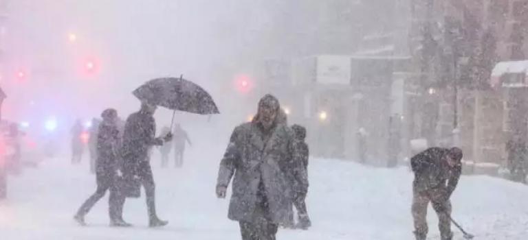 超強冷空氣席捲美東,本週紐約氣溫將暴跌至-14度!