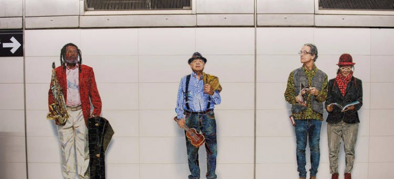 紐約4個地鐵站元旦新開:瓷磚藝術搶先看~超級棒!