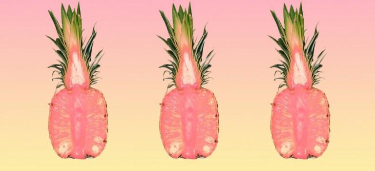 """哇塞!加州科學家發明""""粉紅菠蘿"""":少女心爆棚啦!"""