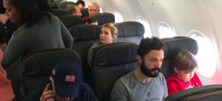 Ivanka Trump搭機遭罵,網友一面倒:其他大人物會搭客機嗎?