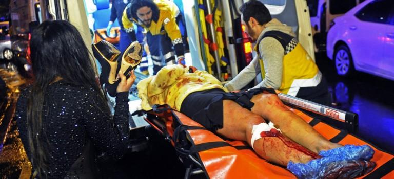 土耳其槍擊案現場視頻曝光:嫌犯舉槍掃射,畫面恐怖不堪!