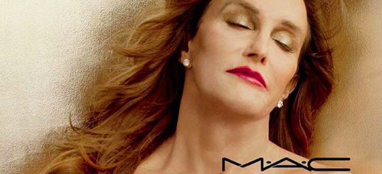Mac重金請到Caitlyn Jenner拍攝新彩妝廣告,很性感喔
