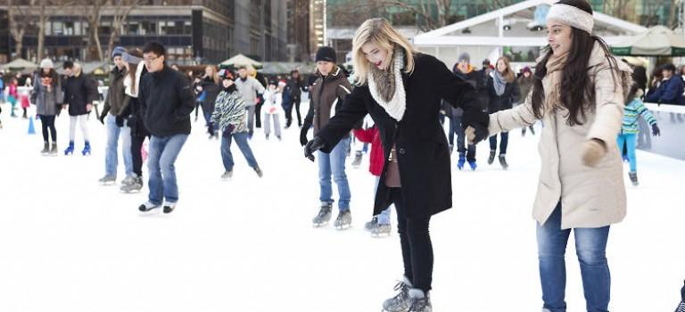 Bryant Park免費溜冰課程上線,這麼好的冬季活動怎麼能錯過~!