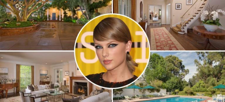 Taylor Swift比弗利豪宅內外細節曝光:圖書館、網球場全都有!