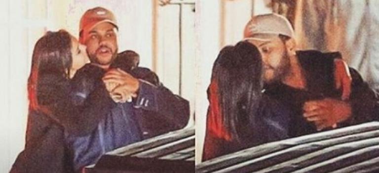 Selena和The Weeknd當街接吻被抓包:娛樂圈又一對驚人CP曝光!!