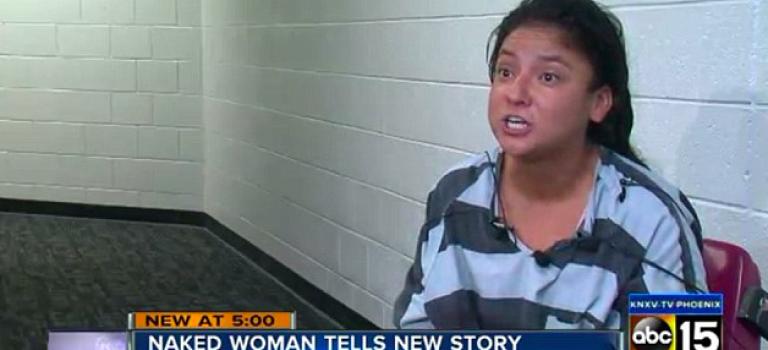 『視頻』電視影集女星裸體上警車,辯稱遭到強暴…