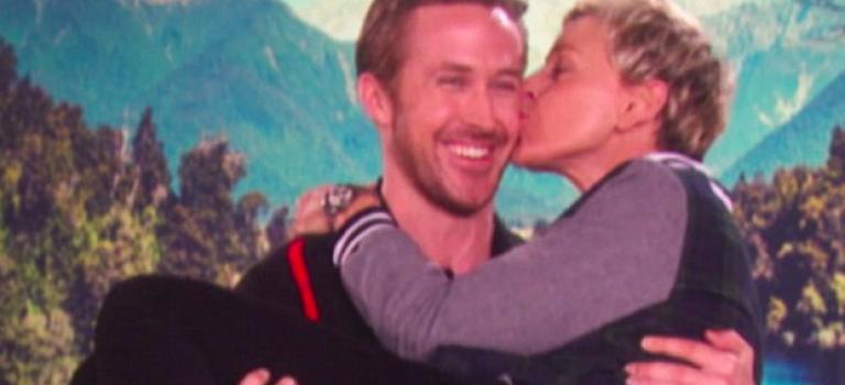 『視頻』男神變心超快速,公主抱Ellen粉絲好吃醋!