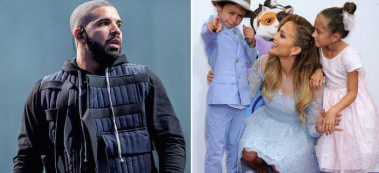認真了?Drake用心了解JLo子女,一心想當好爸爸