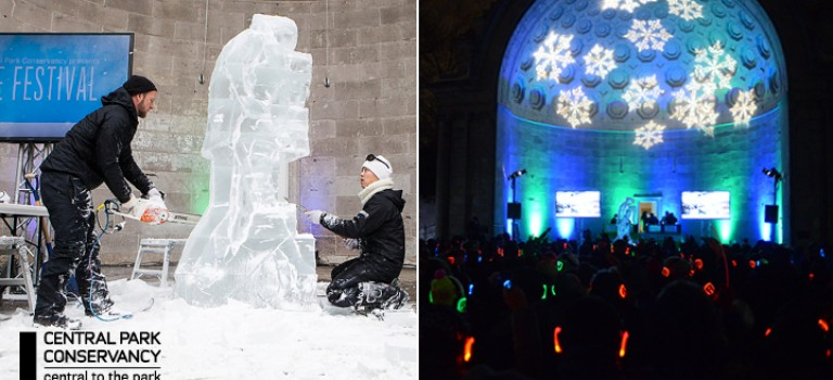 2017紐約中央公園冰雕節!你還等什麼?