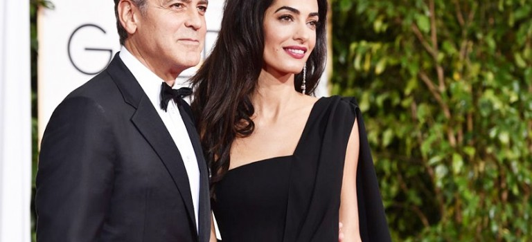 "Holy!!! ""最帥空殼""George Clooney喜當爹! 38歲老婆懷雙胎"