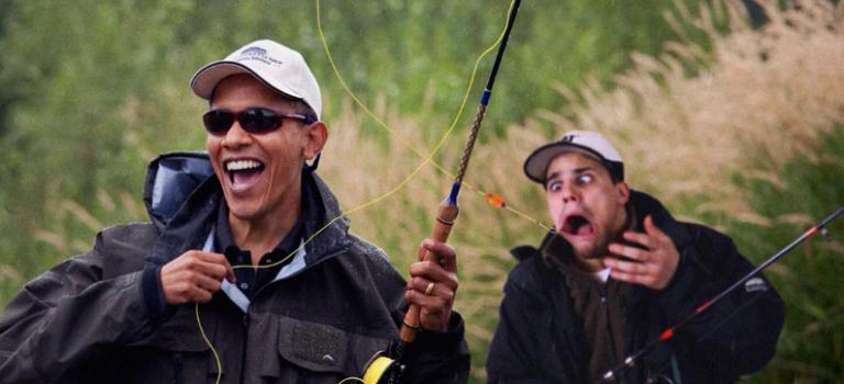 這位大叔用這樣幽默的PS方式告別奧巴馬時代:有笑又有淚!