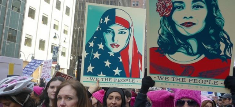 為女權也為人權!紐約10萬女性上街大遊行