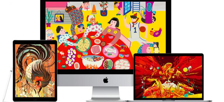 大雞大利!蘋果官網迎雞年!請到五位華人設計師!台灣一人入選!