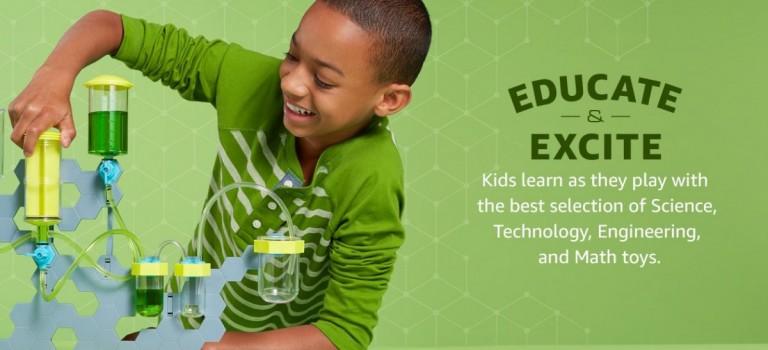 Amazon出新招!每月$20訂購兒童高科技玩具