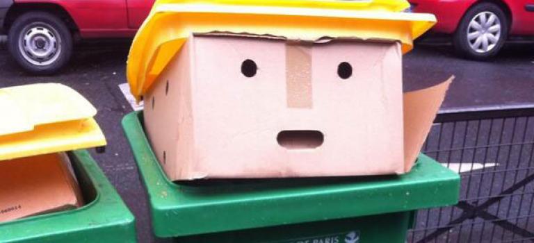 不得了!垃圾桶裡發現川普總統!於是,網路又掀起了PS狂潮…..