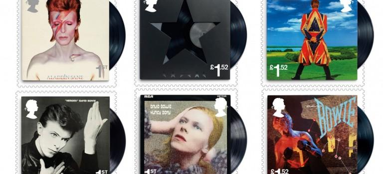 懷念David Bowie,英國皇家郵政推出特別郵票系列