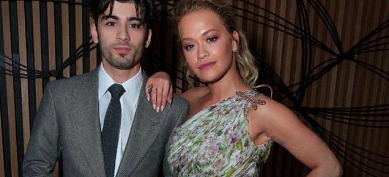 贊恩牽Rita Ora出席格雷首映!意外頭髮成焦點!網友:咦~帥嗎?!