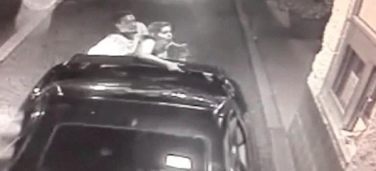 『視頻』麥當勞得來速追打老婆小孩!店員機靈接過孩子急報警!