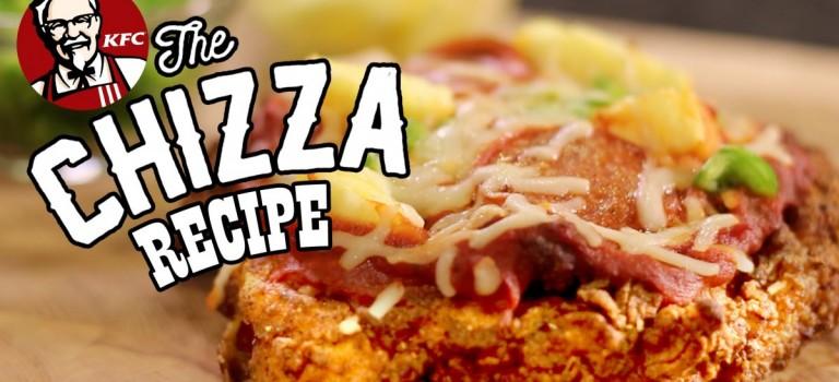 """我要試!肯德基推出用炸雞做""""餅皮""""的Pizza 😍😍😍"""