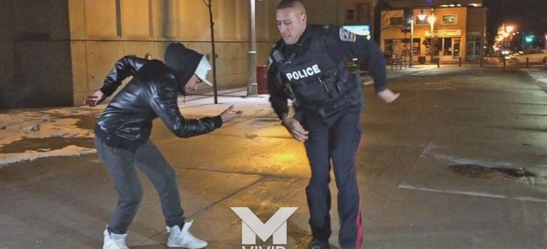 超帥視頻:加拿大警察身手不凡,即興跳街舞爆紅網絡!