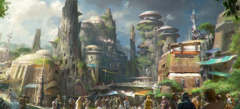 """迪士尼""""星球大戰""""主題公園開工在即,預計 2019 年正式開放"""