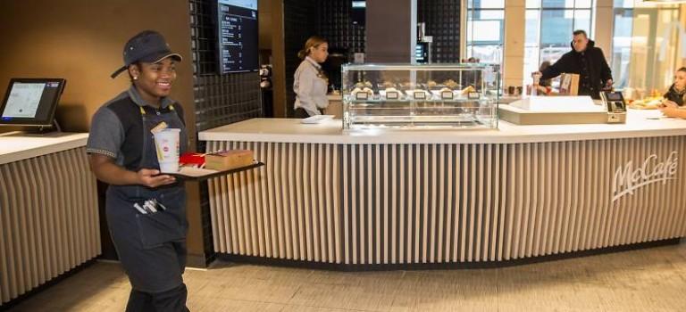 法式麥當勞進駐曼哈頓,速食店變身情調咖啡館!