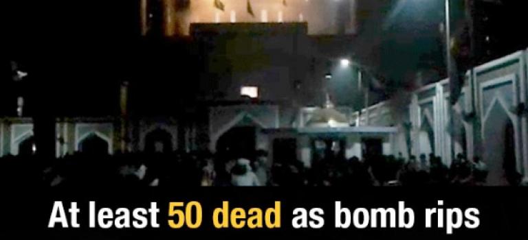 【國際突發】巴基斯坦一清真寺發生自殺式襲擊:至少50人死亡!