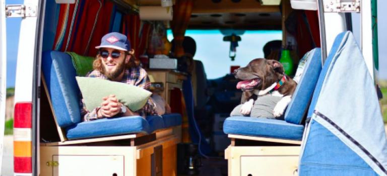 5000美金環遊美國!這對情侶跟他們的狗狗編織世界最美旅遊夢!