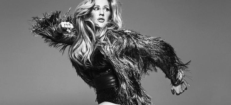 OMG!Ellie Goulding性感露長腿拍廣告!怎麼當時維密秀沒拿出來啦!
